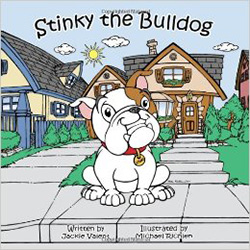 Stinky the Bulldog by Jacalyn Valent