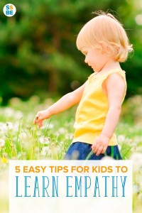 Empathy has long been touted as one of the most critical skills for children to have. Help your child learn empathy with these 5 easy tips.