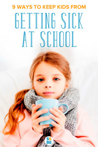 Are all the kids at school sick? Caring for a sick child at home can be a hassle for many families. Help your kids avoid getting sick at school with these 9 tips.
