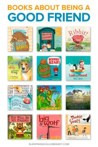 Children's Books about Being a Good Friend