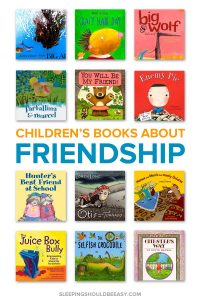 A collection of children's books about friendship