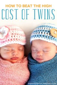 twin babies: how to beat the high cost of twins