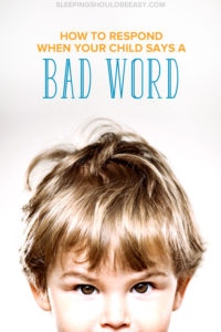 Mischievous boy's face up close: How to respond when your child says a bad word