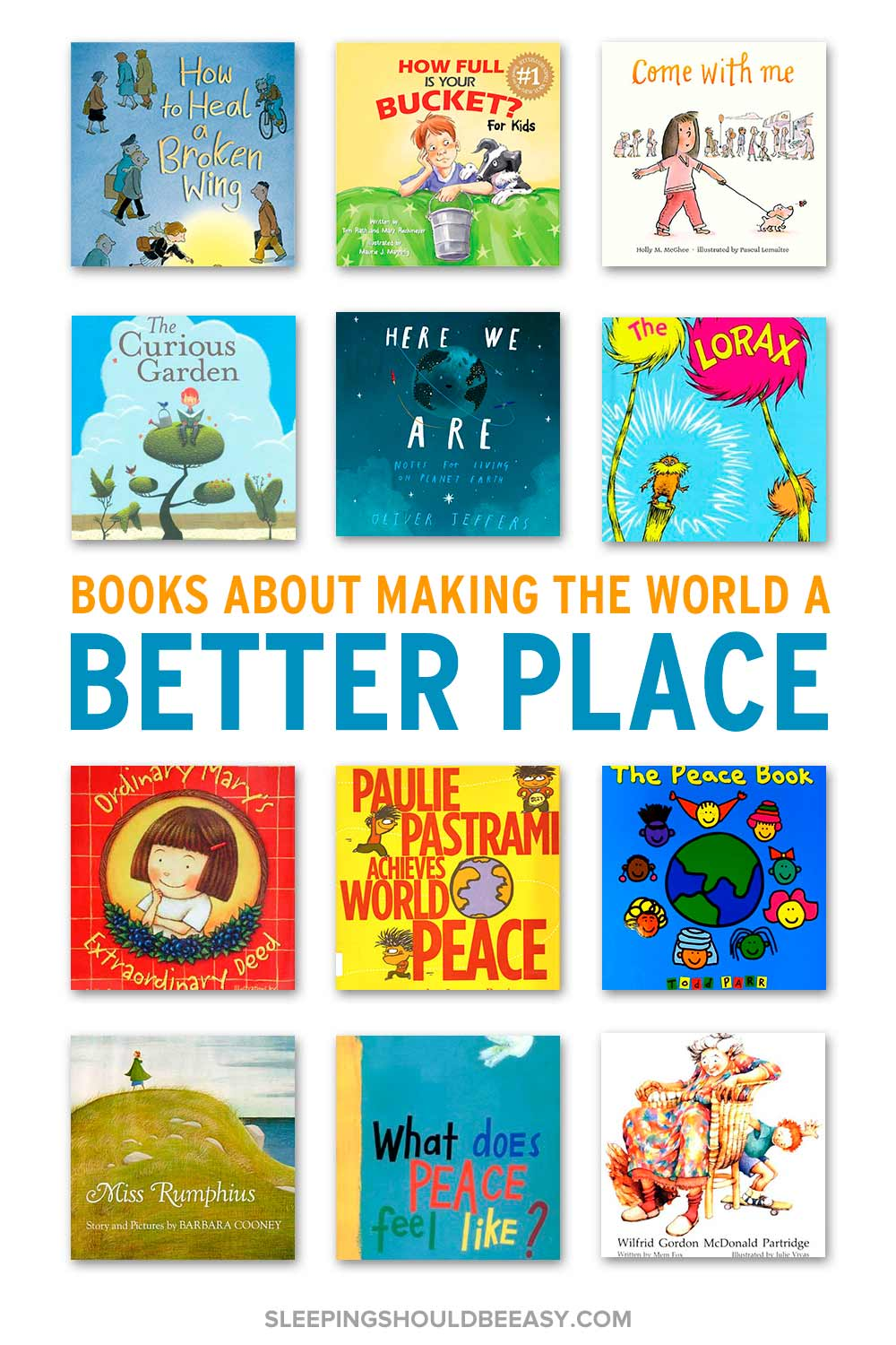 children's books about making the world a better place