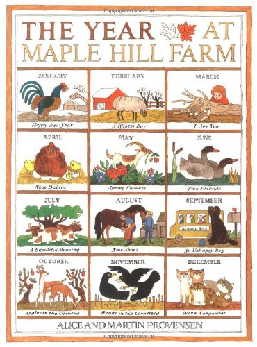 The Year At Maple Hill Farm by Alice Provensen