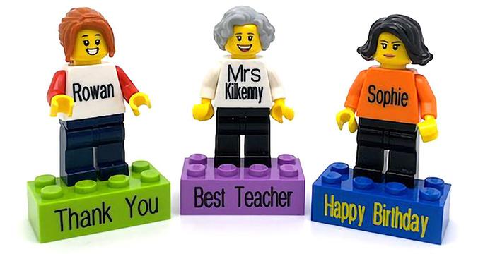 Personalized mini Lego