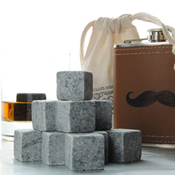 Father's Day gift idea: whiskey rocks for the drink connoisseur