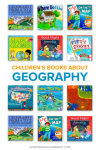 Help your child learn about their world, the differences between cities and states, and how to read a map with these 9 geography books for kids.