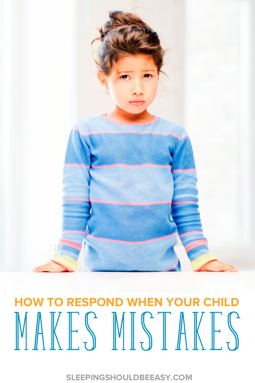 How you respond to the mistakes kids make is just as important as correcting it in the first place. Learn how to respond when kids make mistakes.