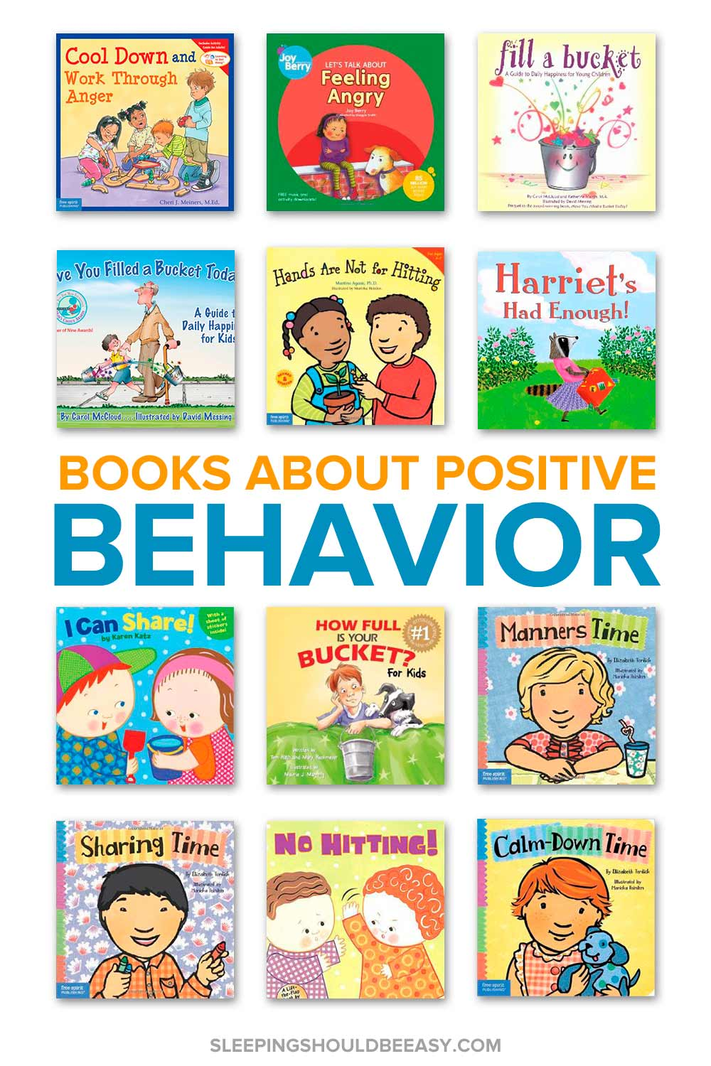 A collection of children's books about positive reinforcement