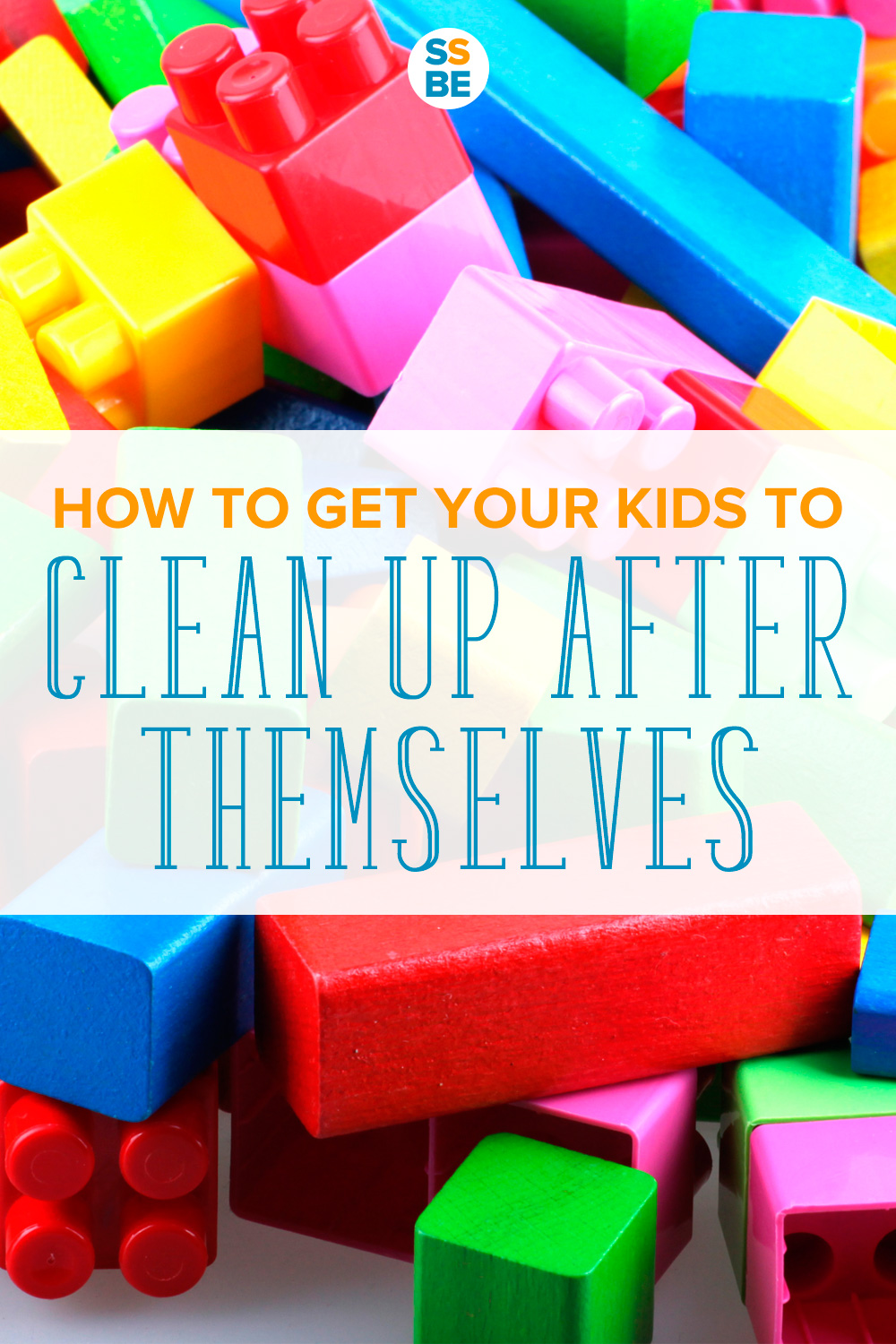 Lego pieces: how to get your kids to clean up after themselves