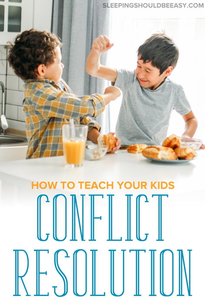 Conflict Resolution for Children