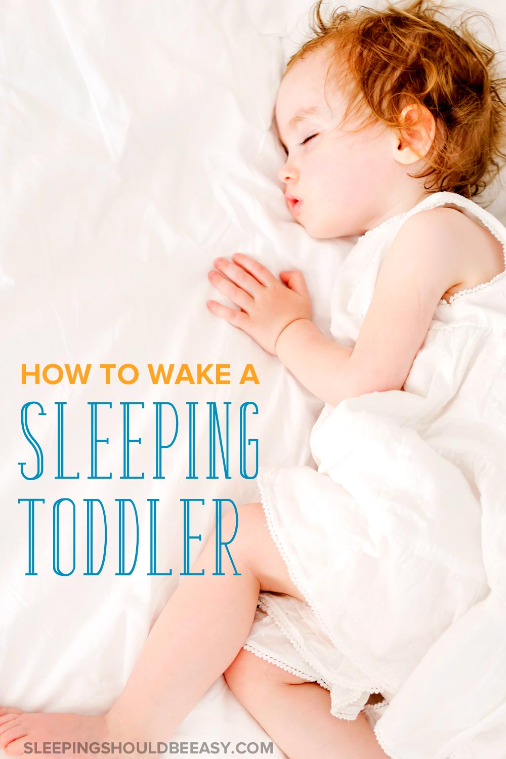 toddler won't wake up from nap