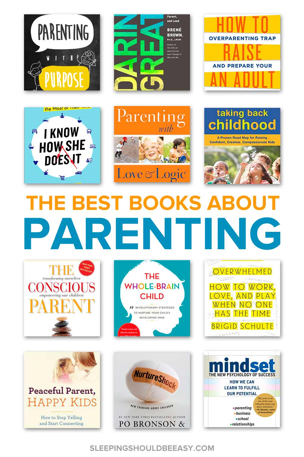A collection of top parenting books