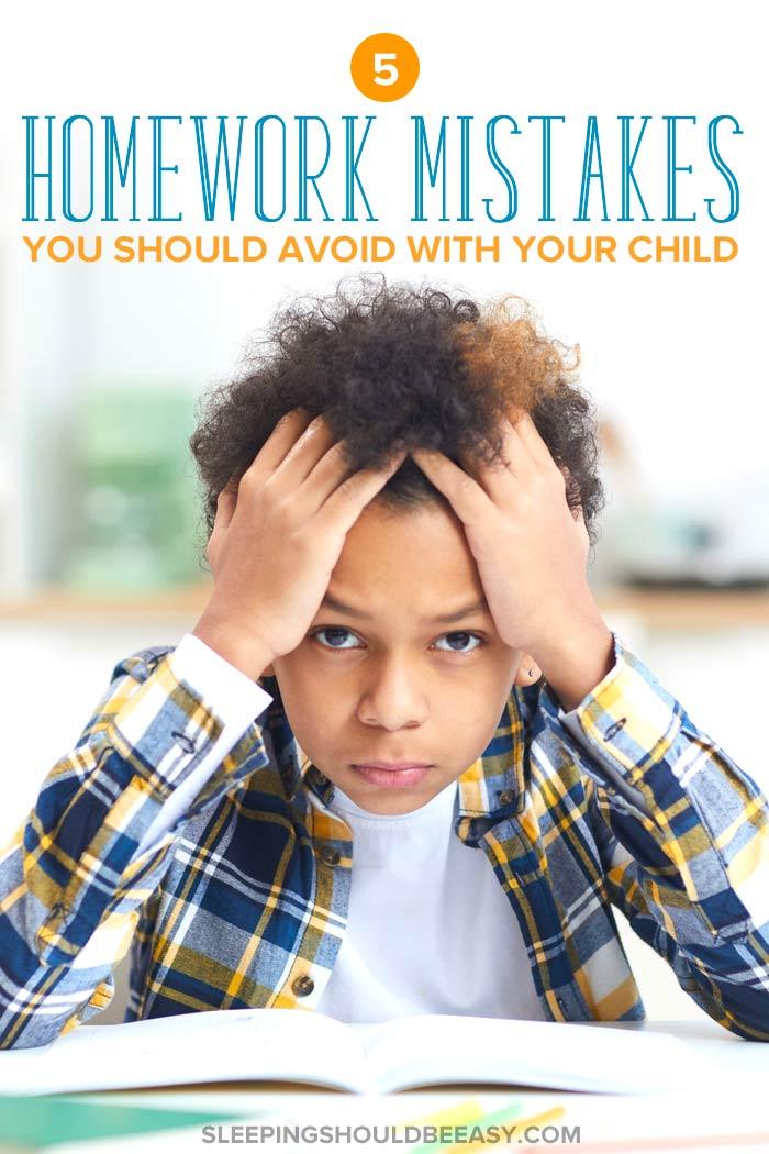 Homework Mistakes You Should Avoid