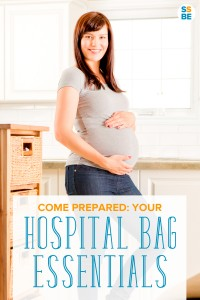 Wondering what to pack in your hospital bag? Get my checklist of hospital bag essentials you should be packing — everything you need for your hospital stay for you and the baby. Comes with a free printable hospital bag checklist for labor and delivery. Even includes a FREE printable of all your hospital bag essentials to check off! Click here to download the list! #pregnancy