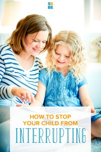 Does your child interrupt conversations, whether between adults or children? Learn how to stop your child from interrupting without the fussiness.
