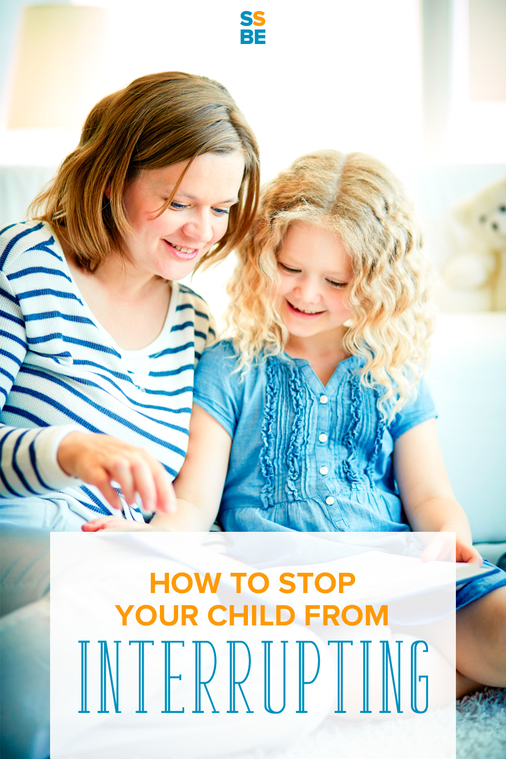 Does your child interrupt conversations, whether between adults or children? Learn how to stop your child from interrupting, all without a meltdown.