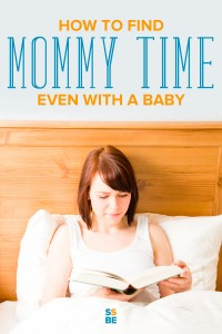 Finding mommy time can be a challenge for many moms, especially with a baby in tow. But don't worry—there are ways to enjoy time to yourself to relax and have fun.