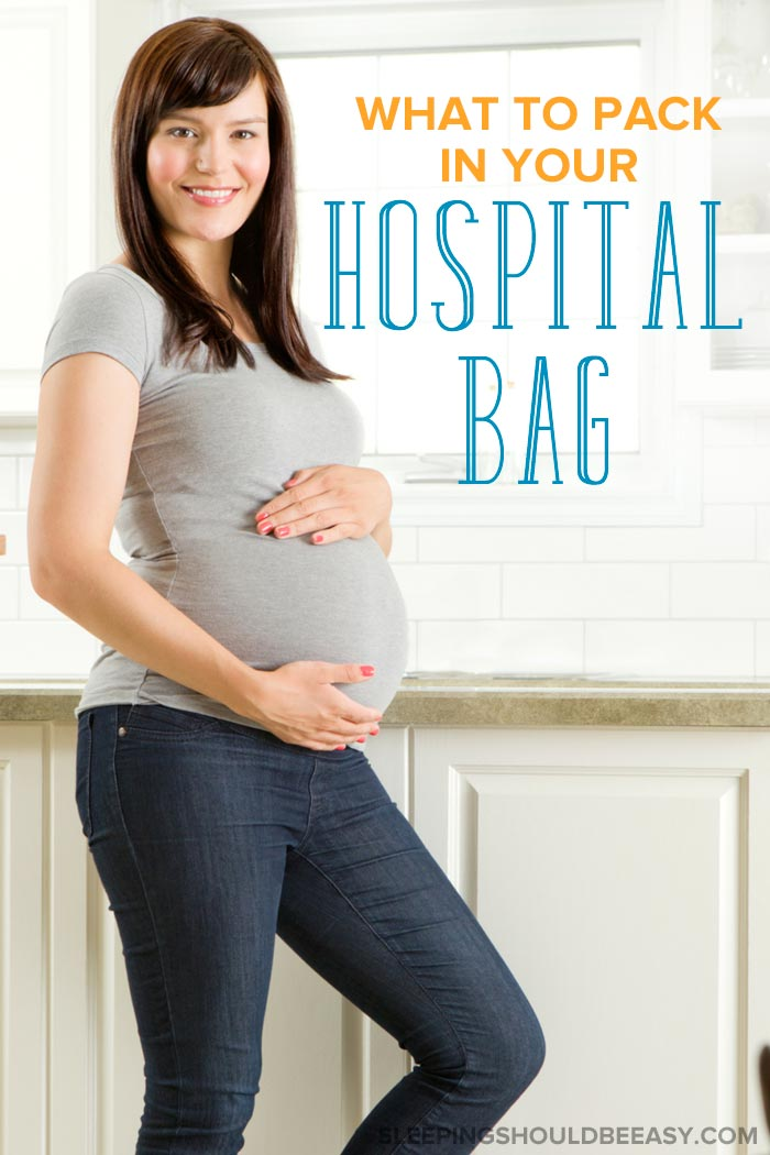 Pregnant woman: Hospital bag essentials