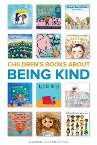 A collection of children's books about being kind