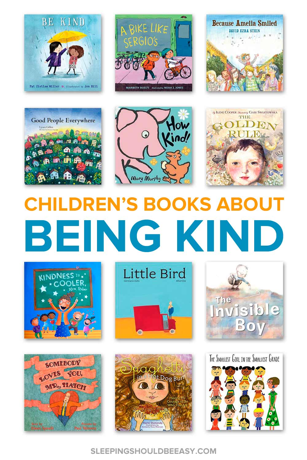 Children's books about being kind
