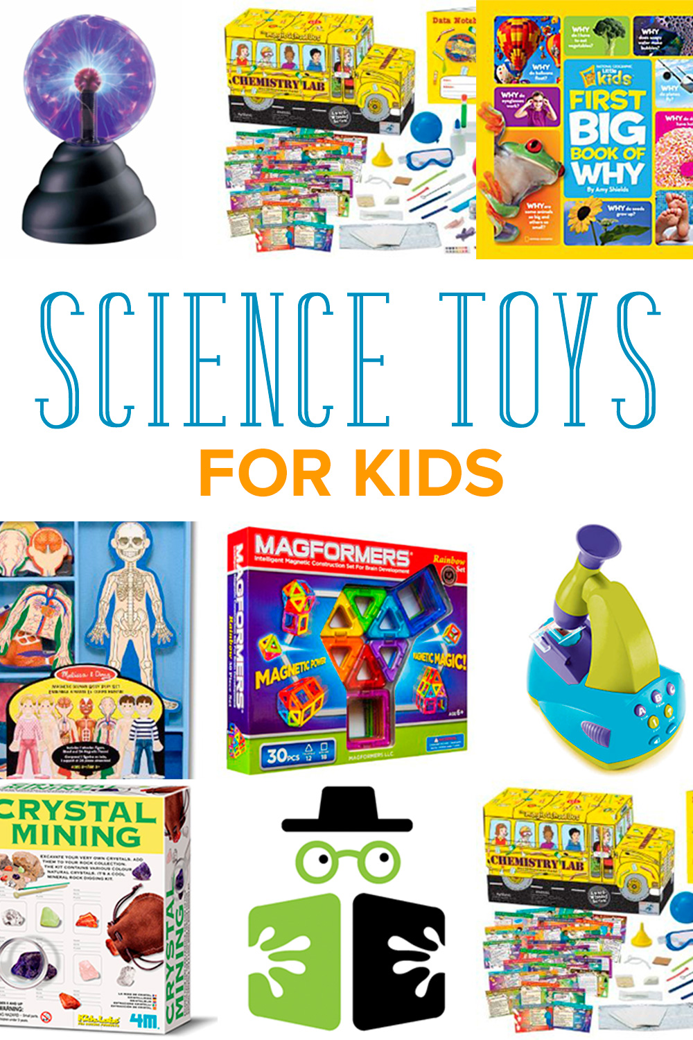 Looking for cool kids science toys? These 8 ideas are perfect for kids ages 3-6. They encourage curiosity and discussion about how things work.