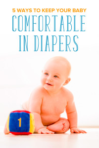 From rashes to wetness, dealing with uncomfortable diapers can be troublesome for both parent and child. Learn how to keep your baby comfortable in diapers.