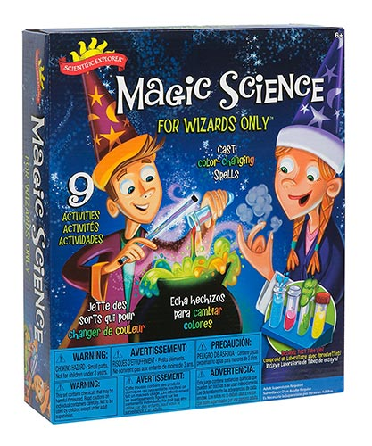 Scientific Explorer Magic Science for Wizards Only