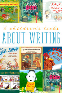 Is your child interested in writing books and stories? Encourage storytelling with these 8 children's books about writing.