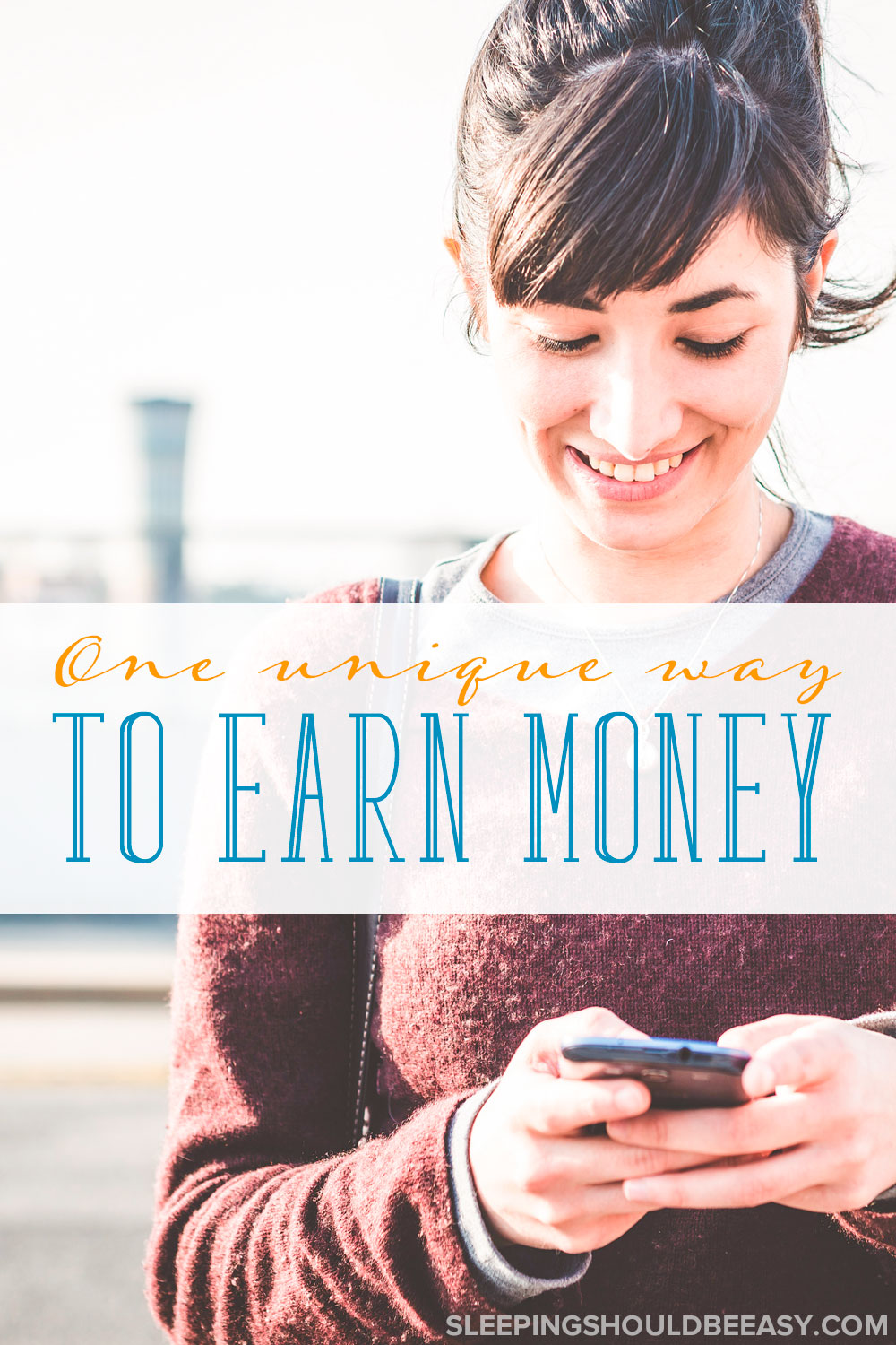 One Unique Way for Moms to Earn Extra Money