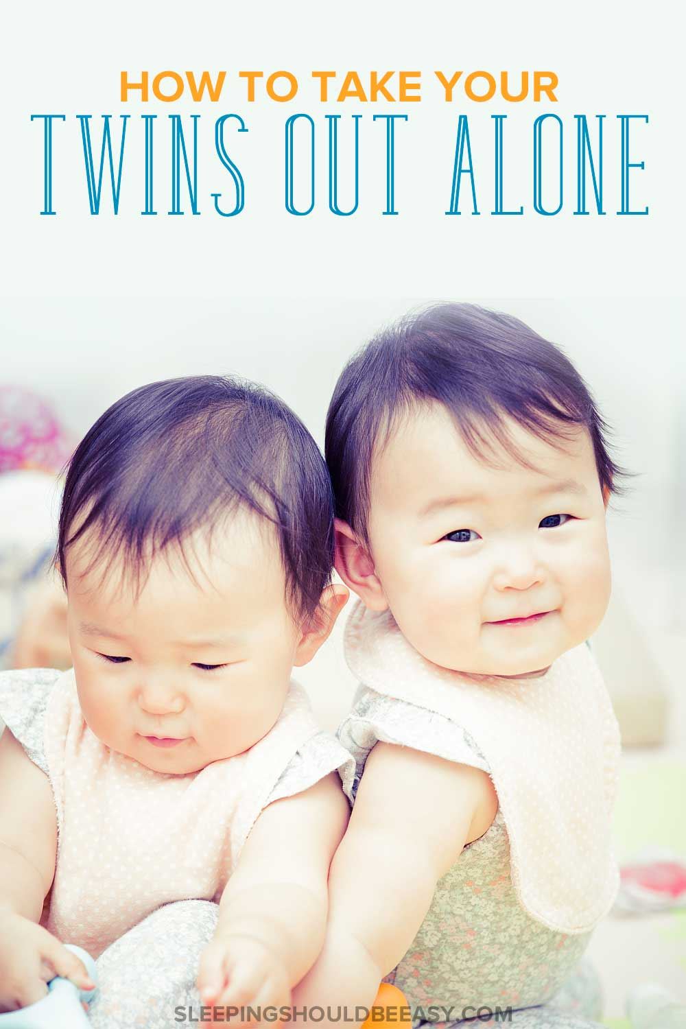 How to be out with twins alone