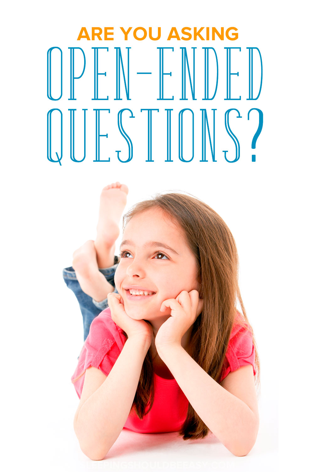 Learn the importance of open ended questions for children to spark conversation and discover what to say (and not say) to encourage interaction.