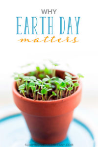 An article on why Earth Day matters now more than ever. Learn how you can participate in this year's Earth Day with simple day-to-day actions. AD