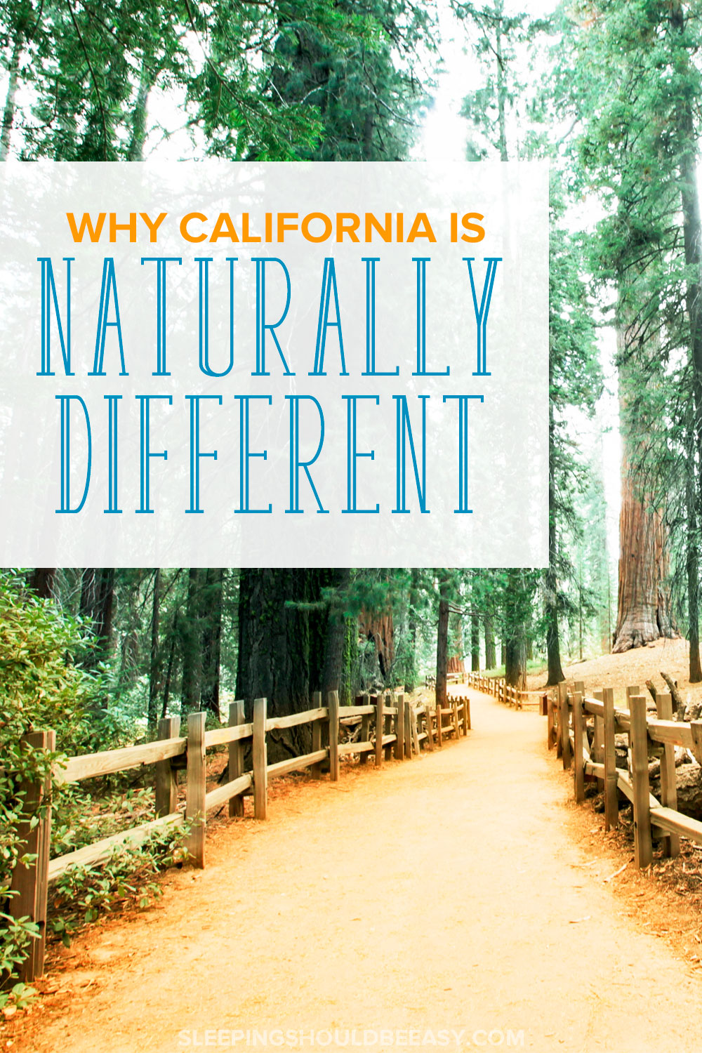 California is one of the most unique states in the country. Learn why the golden state is naturally different with everything it offers.
