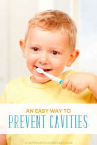 Did you know your fridge might have the biggest culprit with tooth decay? Learn an easy way to prevent cavities from growing, especially in your child's baby teeth.