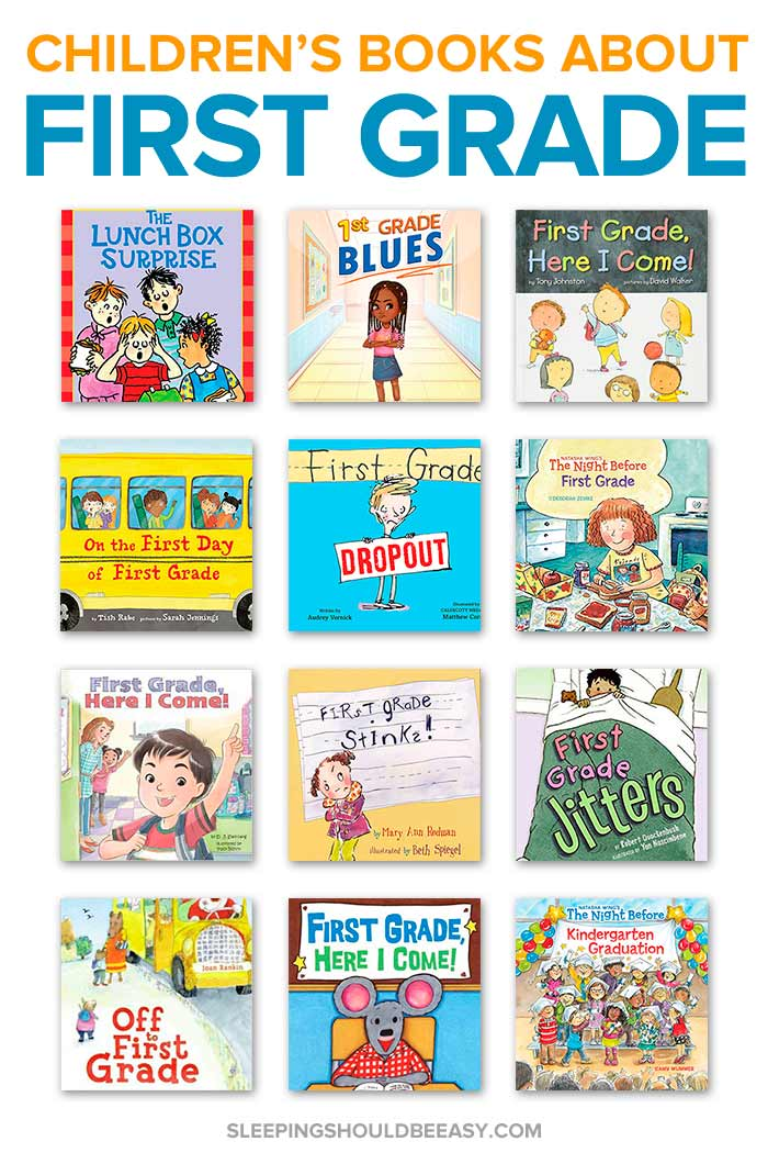 Children's books about first grade