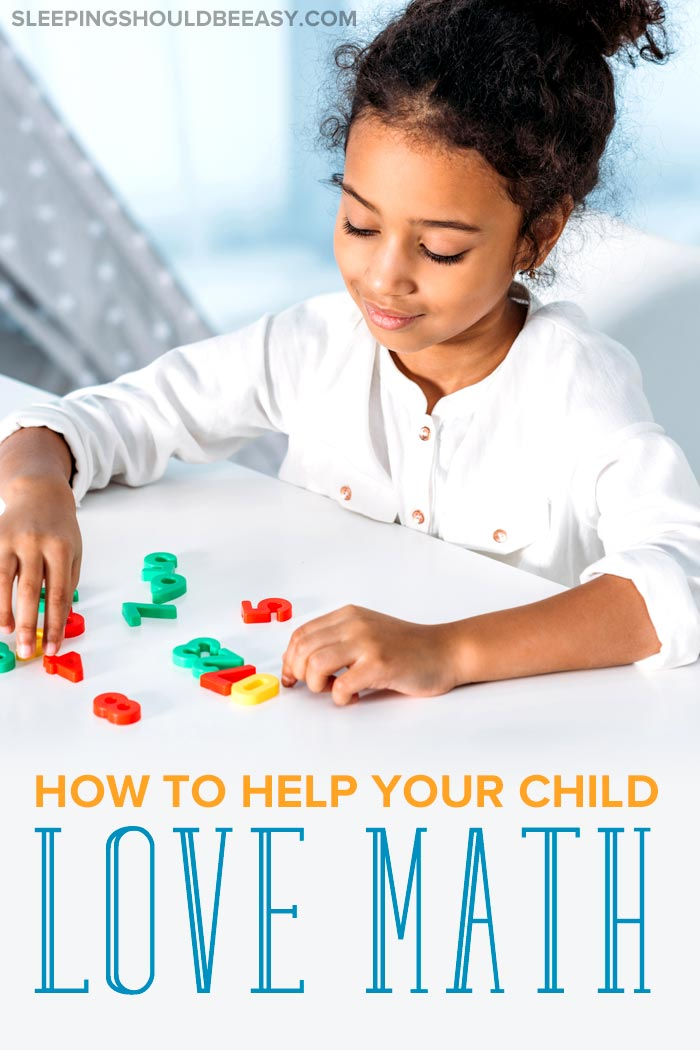 How to make your child love math