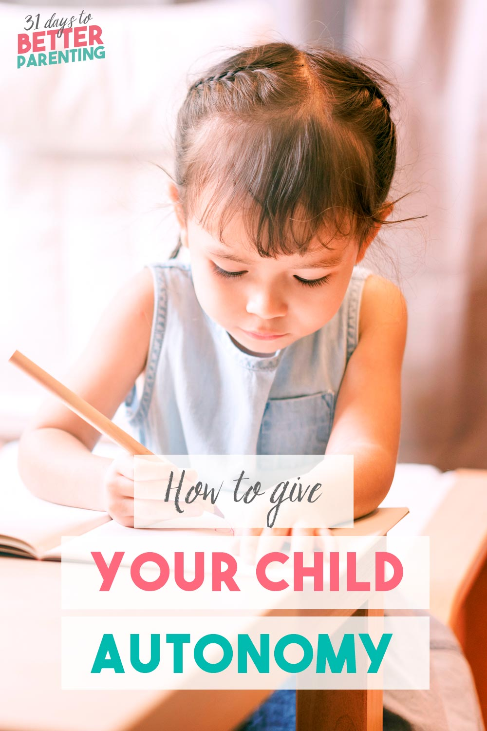 Teaching autonomy in children is important to encourage a love of learning and responsibility. Learn how to raise an autonomous child with these tips.