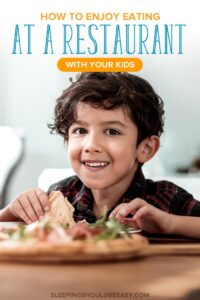 Enjoy a Restaurant with Kids
