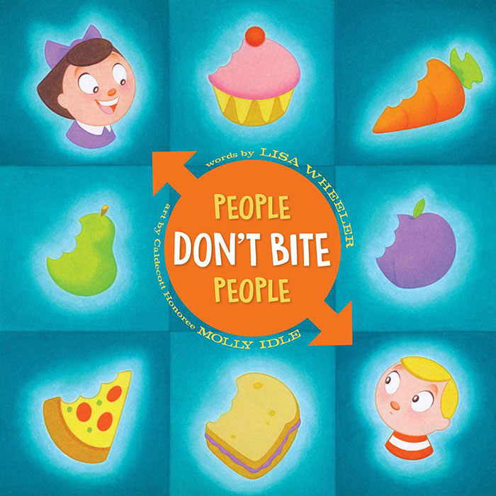 People Don't Bite People by Lisa Wheeler