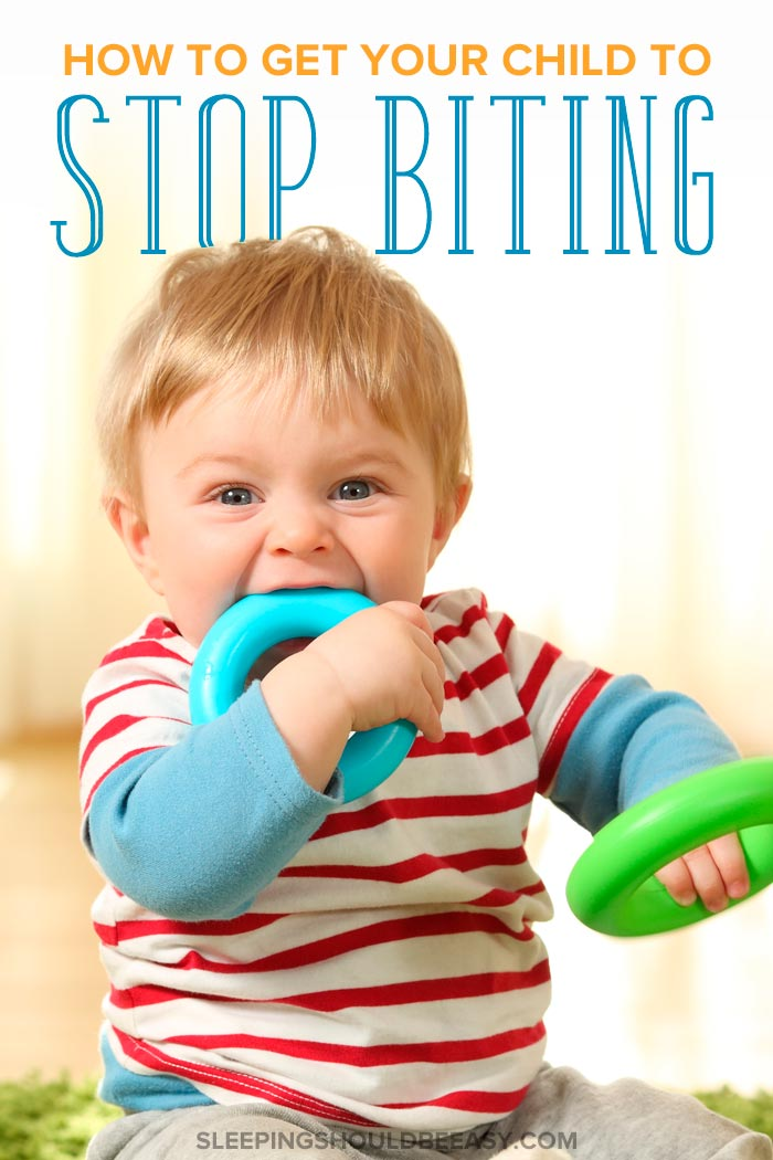 How to stop your child from biting