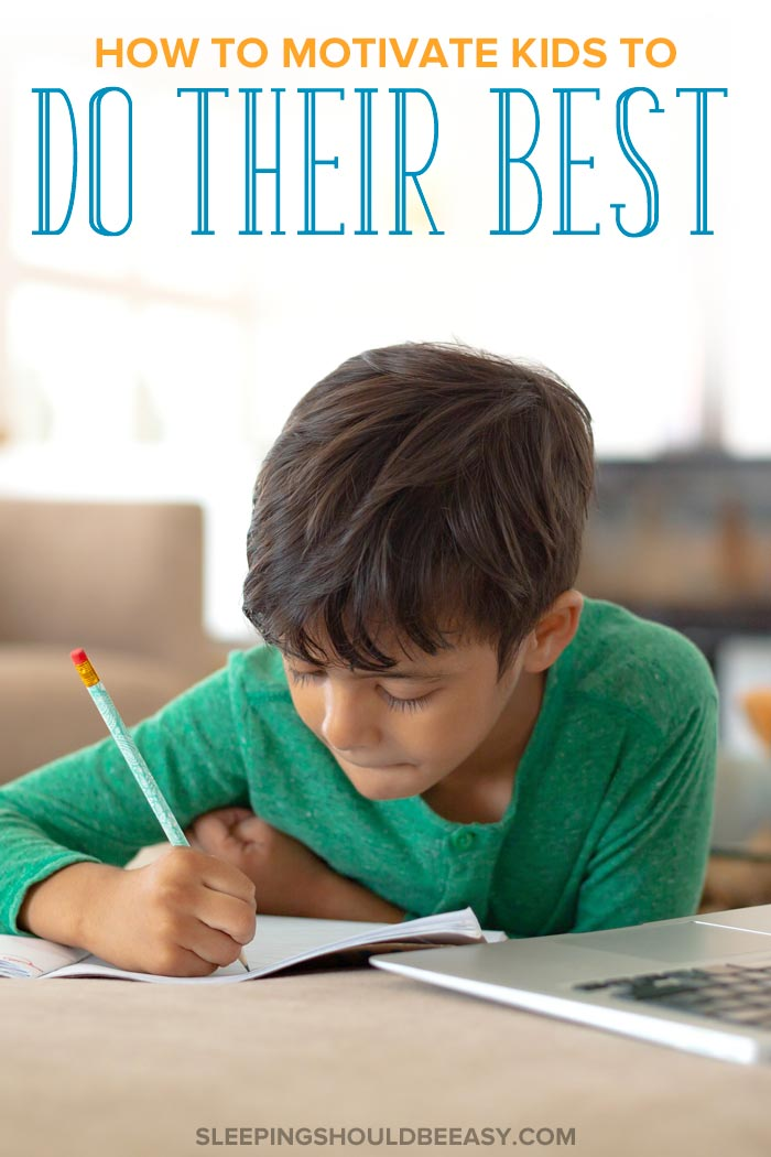 How to Motivate Children to Do Their Best