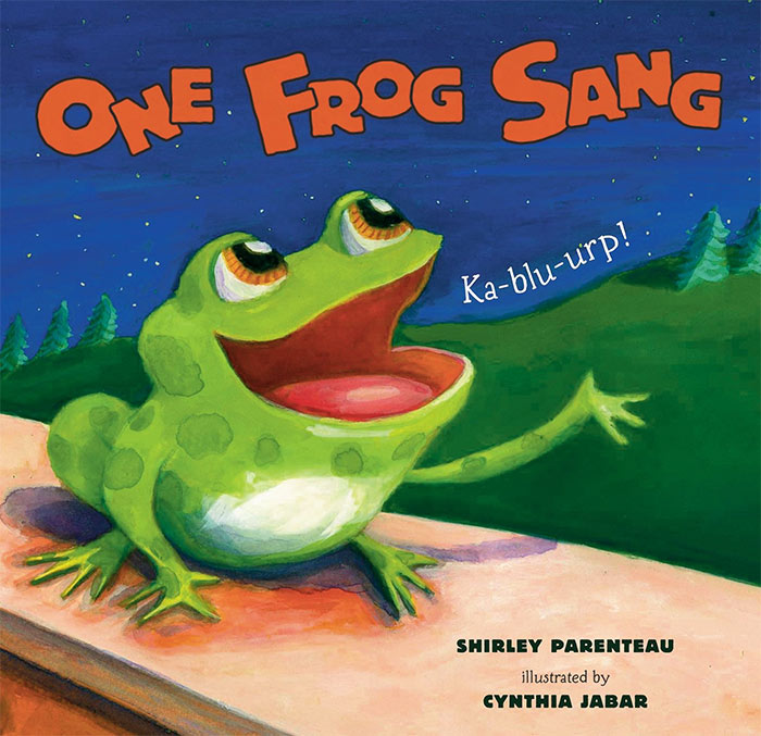 One Frog Sang by Shirley Parenteau