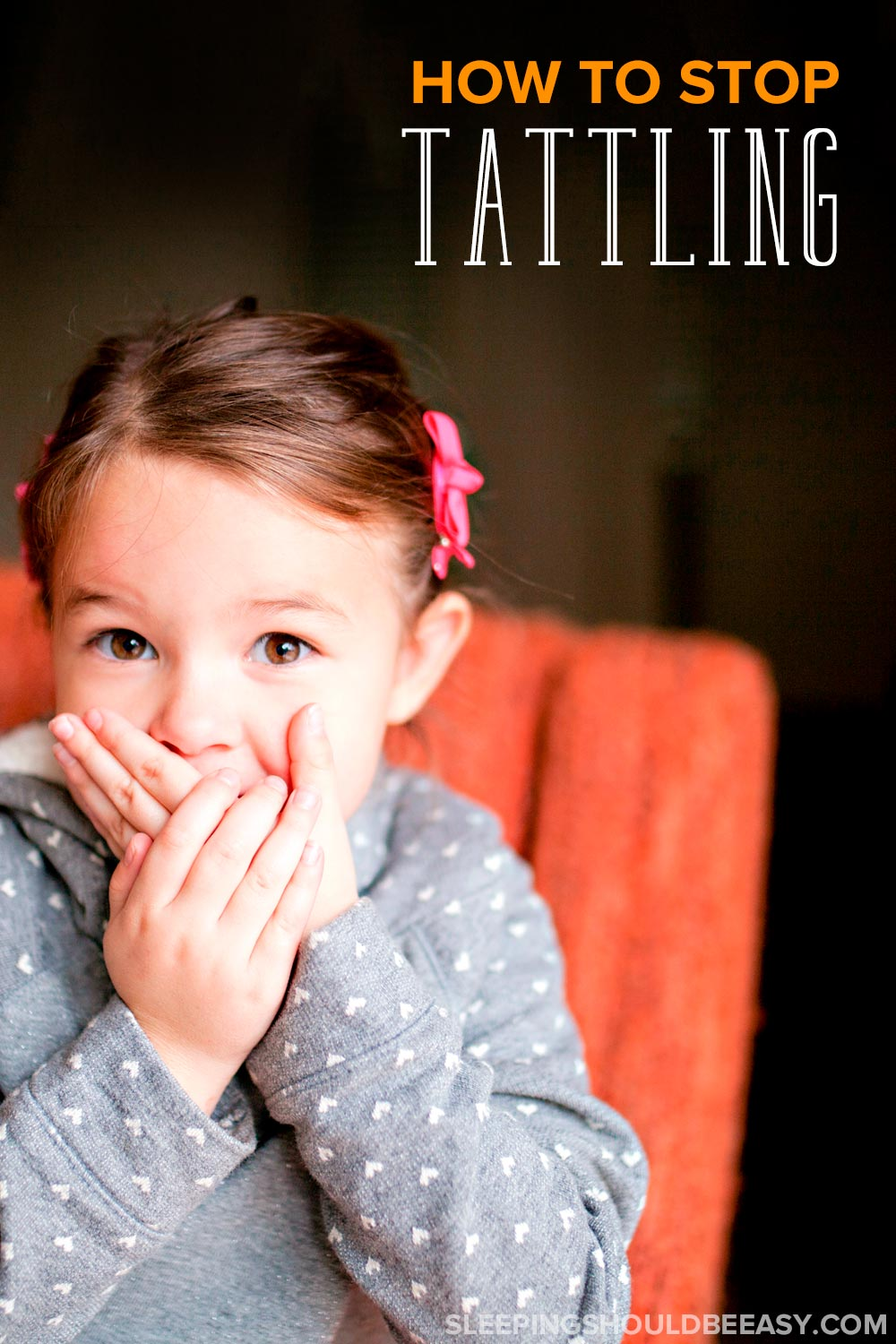 How to stop tattle telling