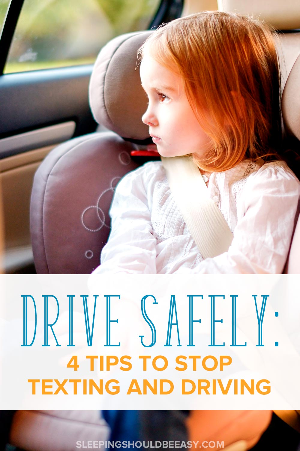 Do you drive while distracted? Learn why no texting while driving is important and 4 effective tips to help you drive safely.