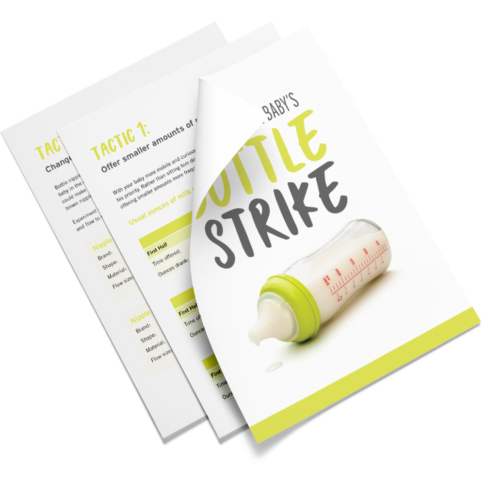 A free download of the Bottle Strike Workbook