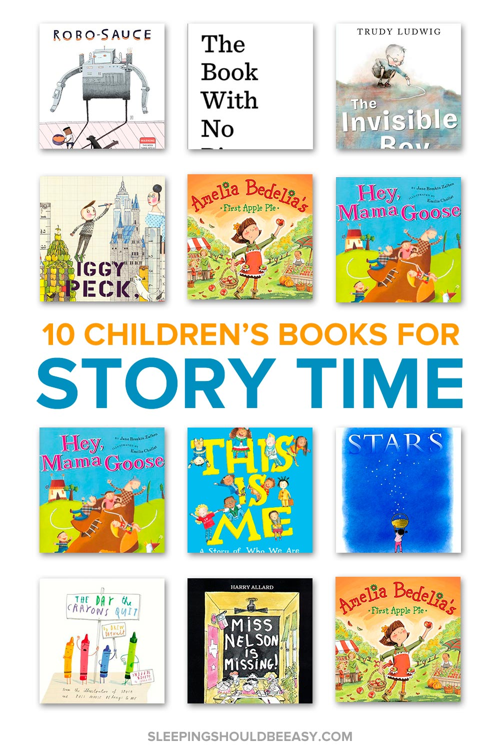 Children's story time books