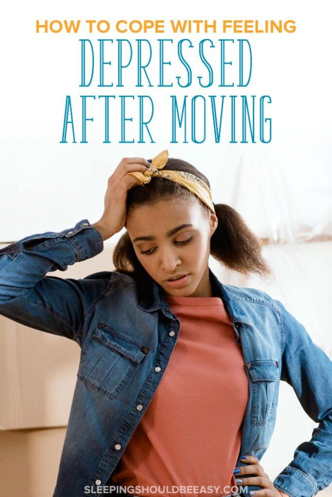 depressed after moving