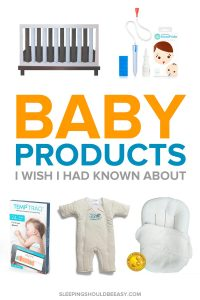 A collection of baby prodicts I wish I had known about